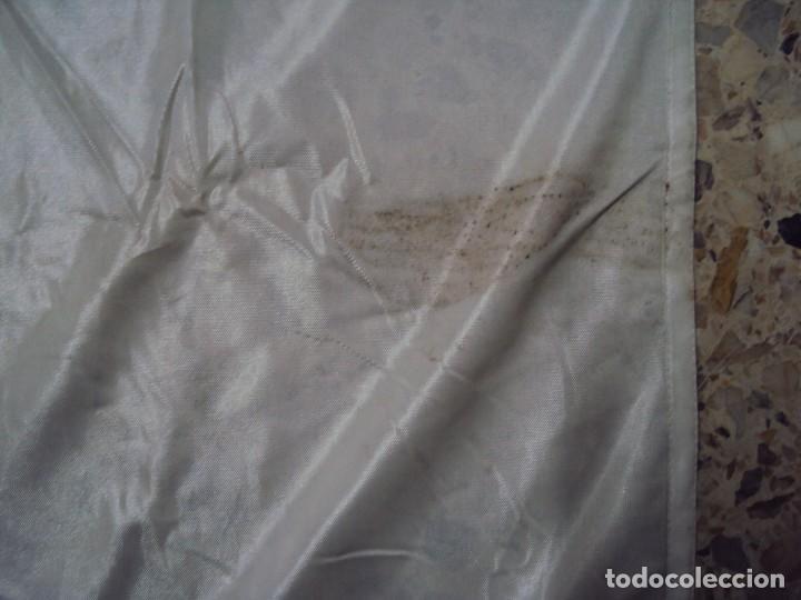 Coleccionismo deportivo: (F-180456)BANDERA OFICIAL OLIMPICA - BARCELONA 92 - FIRMADA POR D.JUAN ANTONIO SAMARANCH - - Foto 19 - 118251567