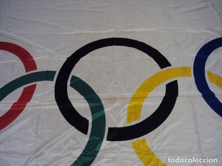 Coleccionismo deportivo: (F-180456)BANDERA OFICIAL OLIMPICA - BARCELONA 92 - FIRMADA POR D.JUAN ANTONIO SAMARANCH - - Foto 29 - 118251567