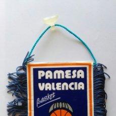 Coleccionismo deportivo: BANDERÍN PAMESA VALENCIA BASKET. Lote 119552986