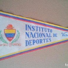 Coleccionismo deportivo: INSTITUTO NACIONAL DE DEPORTES DE VENEZUELA - AÑOS 60/70. Lote 119844043