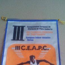 Coleccionismo deportivo: CAMPEONATOS EUROPEOS DE ATLETISMO EN PISTA CUBIERTA - MADRID - 1968. Lote 119845287