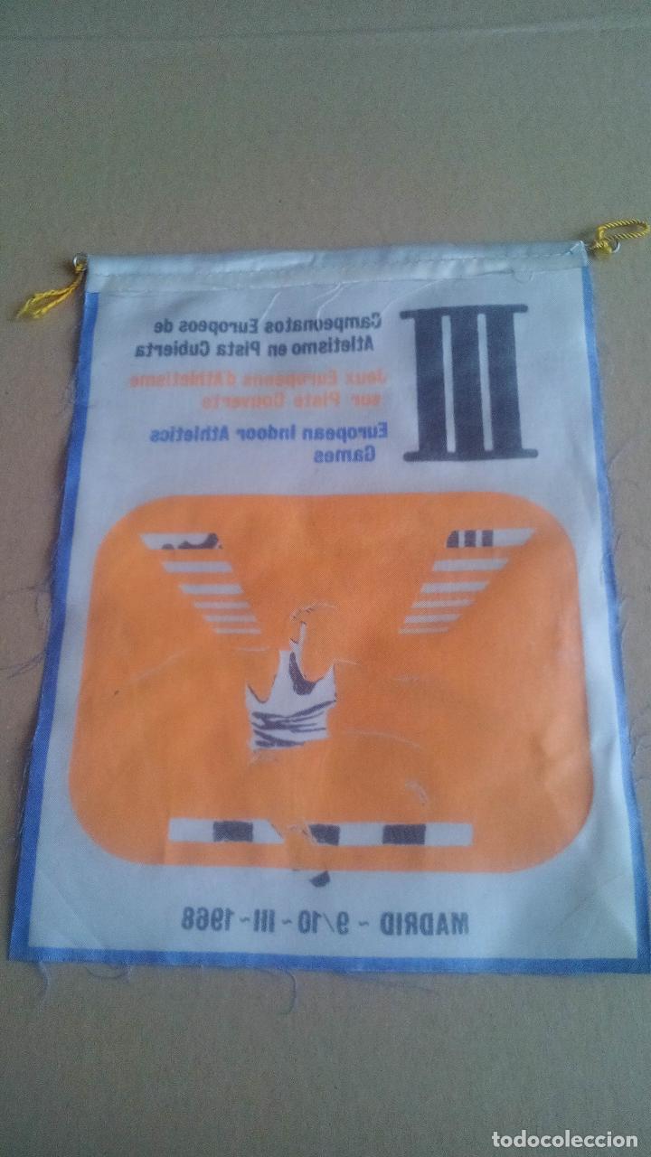 Coleccionismo deportivo: CAMPEONATOS EUROPEOS DE ATLETISMO EN PISTA CUBIERTA - MADRID - 1968 - Foto 2 - 119845287