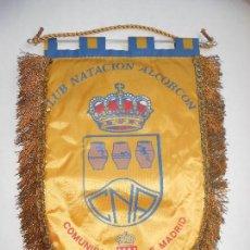 Coleccionismo deportivo: NATACIÓN - BANDERIN CLUB NATACION ALCORCON - COMUNIDAD DE MADRID - 32X42 - FOTO DORSO. Lote 123383151