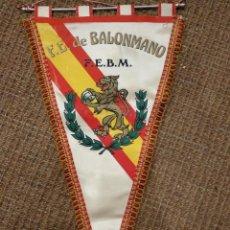 Coleccionismo deportivo: BANDERÍN DE LA FEDERACIÓN DE BALONMANO . Lote 128170431
