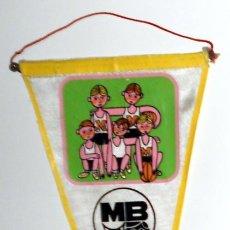 Coleccionismo deportivo: BANDERIN ANTIGUO - DIA NACIONAL DEL MINI-BASKET - BALONCESTO VINTAGE - NOVIEMBRE 1965. Lote 130365926