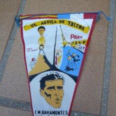 Coleccionismo deportivo: BANDERÍN BAHAMONTES. 1959. Lote 132419318