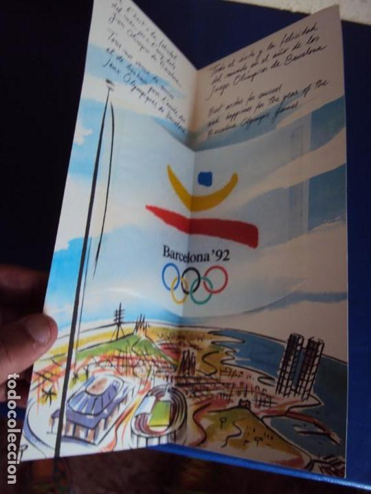 Coleccionismo deportivo: (F-180924)OLIMPIC KIT.CEREMONIA INAGURACION JJOO BARCELONA 92 Olimpic Kit para el público-participa - Foto 11 - 132651990