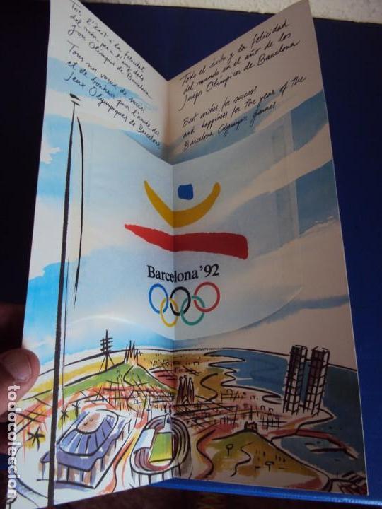 Coleccionismo deportivo: (F-180924)OLIMPIC KIT.CEREMONIA INAGURACION JJOO BARCELONA 92 Olimpic Kit para el público-participa - Foto 12 - 132651990