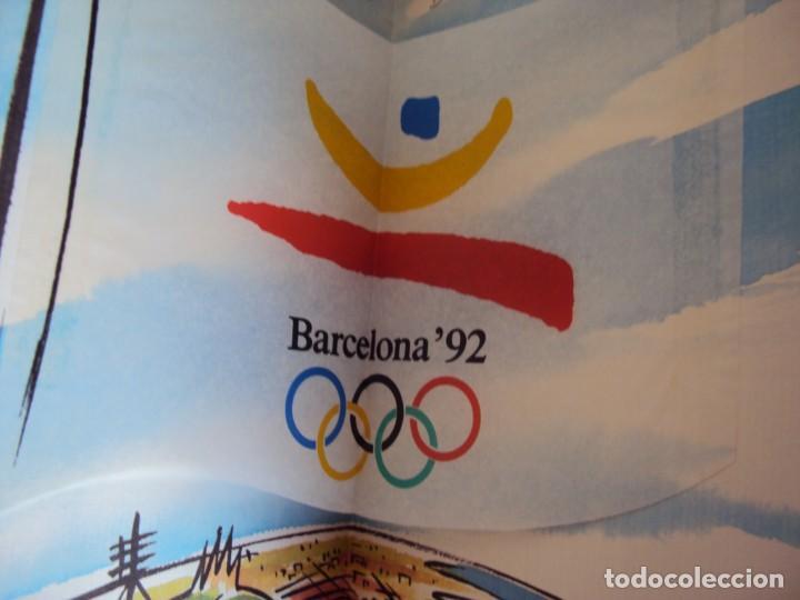 Coleccionismo deportivo: (F-180924)OLIMPIC KIT.CEREMONIA INAGURACION JJOO BARCELONA 92 Olimpic Kit para el público-participa - Foto 14 - 132651990