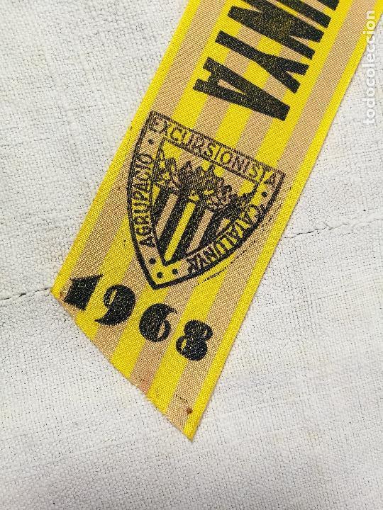 Coleccionismo deportivo: BANDERIN UEC AGRUPACIO UNIO EXCURSIONISTA CATALUNYA -XVIII CAMPAMENT GENERAL DE CATALUNYA REUS 1968 - Foto 2 - 133564098