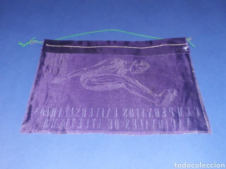 Coleccionismo deportivo: Banderín tela, Campeonatos Universitarios Nacionales Atletismo XIII Jun Seu, Madrid 1 y 2 Mayo 1965. - Foto 2 - 134133098