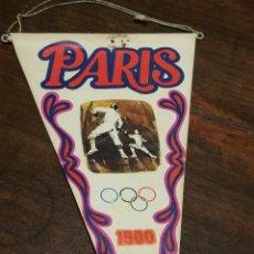 Coleccionismo deportivo: BANDERIN BIMBO Nº2- JUEGOS OLIMPICOS PARÍS, FRANCIA 1900. . Lote 135108882