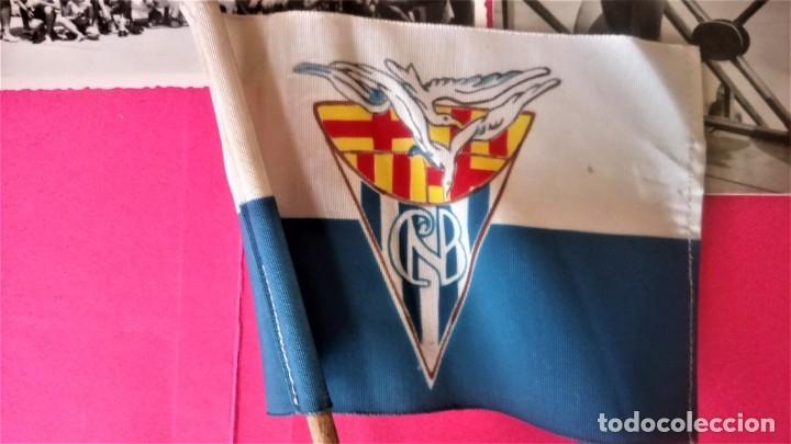 Coleccionismo deportivo: CLUB NATACION BARCELONA,AÑO 1945 TROFEO DE FRONTON,BANDERIN SOBRE MESA Y 3 FOTOGRAFIAS,BARCELONETA - Foto 4 - 137796854