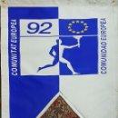 Coleccionismo deportivo: COLECCIÓN DE 9 BANDERAS DE LAS OLIMPIADAS BARCELONA 1992. COOB. 1990. . Lote 138165138