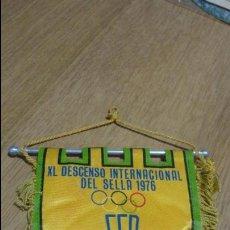 Collezionismo sportivo: FEP.XL DESCENSO INTERNACIONAL DEL SELLA 1976. Lote 139673606