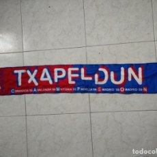 Coleccionismo deportivo: BUFANDA TXAPELDUN COPA DEL REY BALÓNCESTO. Lote 142316042