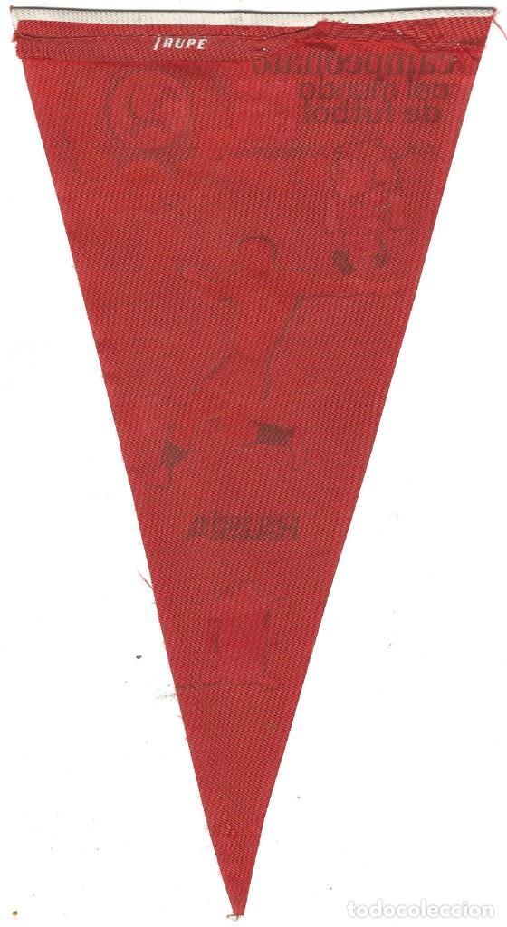 Coleccionismo deportivo: CAMPEONATO DEL MUNDO DE FUTBOL 1966 SELECCION DE RUSIA BANDERIN PUBLICIDAD GIOR - Foto 2 - 144392878