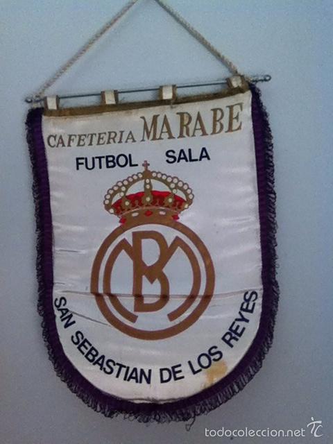 SAN SEBASTIÁN DE LOS REYES FÚTBOL SALA BANDERÍN (Coleccionismo Deportivo - Banderas y Banderines otros Deportes)