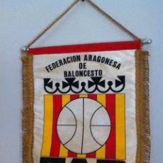 Coleccionismo deportivo: FEDERACIÓN ARAGONESA DE BALONCESTO.. Lote 145720312