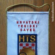 Coleccionismo deportivo: BANDERIN ASOCIACION FEDERACION TENIS CROACIA. Lote 146652806