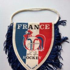 Coleccionismo deportivo: BANDERIN HOCKEY SELECCIÓN FRANCESA. Lote 147342192