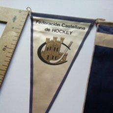 Coleccionismo deportivo: 3 BANDERINES HOCKEY ESPAÑA. Lote 147345638