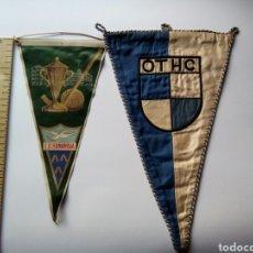 Coleccionismo deportivo: 2 BANDERINES HOCKEY , OTHC Y LS. BONANOVA. Lote 147346084