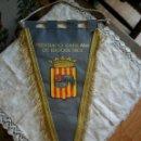 Coleccionismo deportivo: BANDERÍN FEDERACIÓN CATALANA BALONCESTO. Lote 147757746