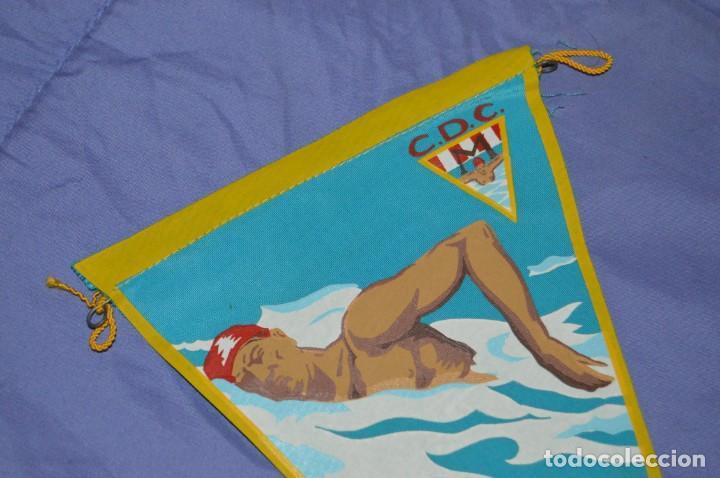 Coleccionismo deportivo: Vintage - ANTIGUO BANDERÍN - C.D.C. MOSCARDO - CAMPEONATOS SOCIALES - 1961 - ANTIGUO - ENVÍO 24H - Foto 2 - 150160050