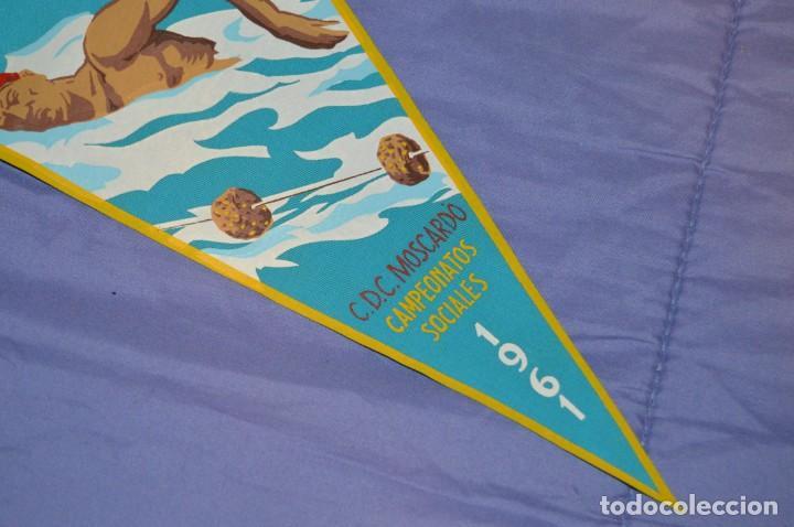 Coleccionismo deportivo: Vintage - ANTIGUO BANDERÍN - C.D.C. MOSCARDO - CAMPEONATOS SOCIALES - 1961 - ANTIGUO - ENVÍO 24H - Foto 3 - 150160050