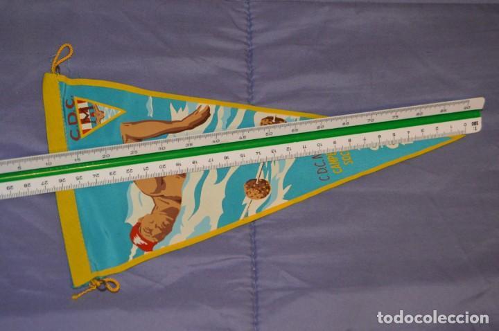 Coleccionismo deportivo: Vintage - ANTIGUO BANDERÍN - C.D.C. MOSCARDO - CAMPEONATOS SOCIALES - 1961 - ANTIGUO - ENVÍO 24H - Foto 5 - 150160050