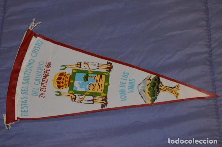 VINTAGE - ANTIGUO BANDERÍN - FIESTAS DEL SANTISIMO CRISTO DEL CALVARIO - ICOD 1961 - ENVÍO 24H (Coleccionismo Deportivo - Banderas y Banderines otros Deportes)