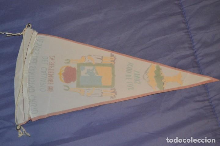 Coleccionismo deportivo: Vintage - ANTIGUO BANDERÍN - FIESTAS DEL SANTISIMO CRISTO DEL CALVARIO - ICOD 1961 - ENVÍO 24H - Foto 4 - 150160402