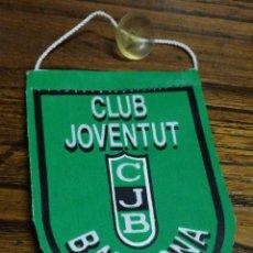 Coleccionismo deportivo: BANDERÍN TELA- CLUB JOVENTUT BADALONA ( LA PENYA), 11'5X8 CM.. Lote 150932840