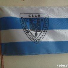Coleccionismo deportivo: BANDERITA DE SOBREMESA DEL CLUB CICLISTA BERCIANO DEPONFERRADA ( LEON ). Lote 151277118