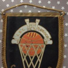 Coleccionismo deportivo: BANDERIN VINTAGE CLUB BASKET CONSERVAS DAROCA,. Lote 151461162