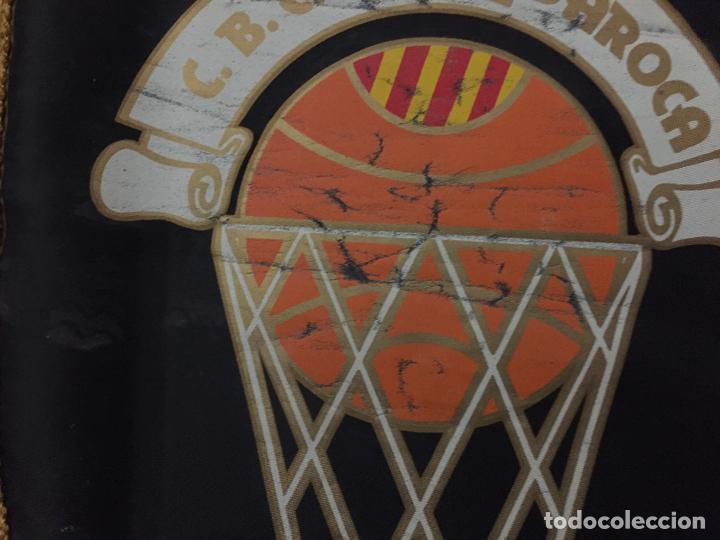 Coleccionismo deportivo: BANDERIN VINTAGE CLUB BASKET CONSERVAS DAROCA, - Foto 2 - 151461162