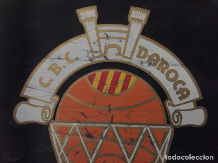 Coleccionismo deportivo: BANDERIN VINTAGE CLUB BASKET CONSERVAS DAROCA, - Foto 3 - 151461162