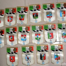 Coleccionismo deportivo: SUPER LOTE 16 BANDERINES BANDERIN OLIMPIADAS MÉXICO 68 JUEGOS OLÍMPICOS PAISES - DETERGENTE GIOR -. Lote 151892542