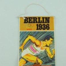 Coleccionismo deportivo: BANDERÍN DE BIMBO DE LOS JUEGOS OLÍMPICOS DE BERLIN 1936 (OLYMPIC GAMES). Lote 153746590