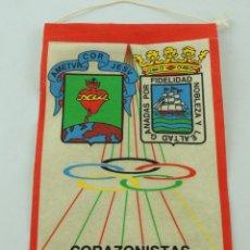 Coleccionismo deportivo: BANDERÍN DE CORAZONISTAS MUNDAIZ SAN SEBASTIAN . Lote 153746698