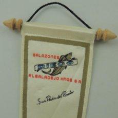 Coleccionismo deportivo: BANDERÍN DE SALAZONES DIEGO ALBALADEJO MURCIA. Lote 153746778