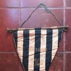 Coleccionismo deportivo: BANDERÍN ORIGINAL DEL VICTORIA CLUB DE FUTBOL DE CORUÑA1944. Lote 155646018