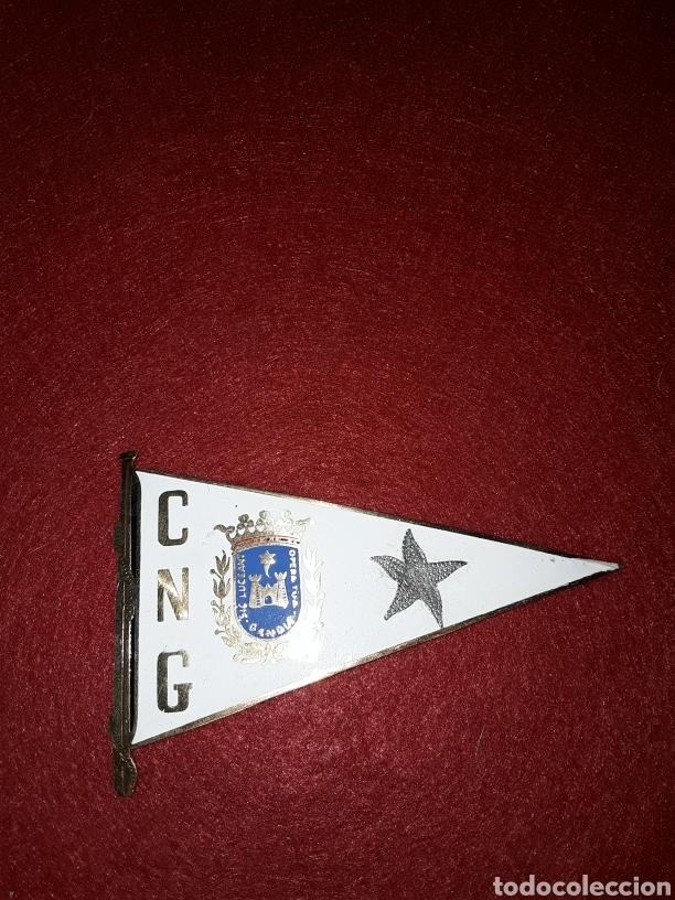 GRAN PLACA UN INSIGNIA ESMALTADA DEL CLUB NÁUTICO GANDÍA (Coleccionismo Deportivo - Banderas y Banderines otros Deportes)