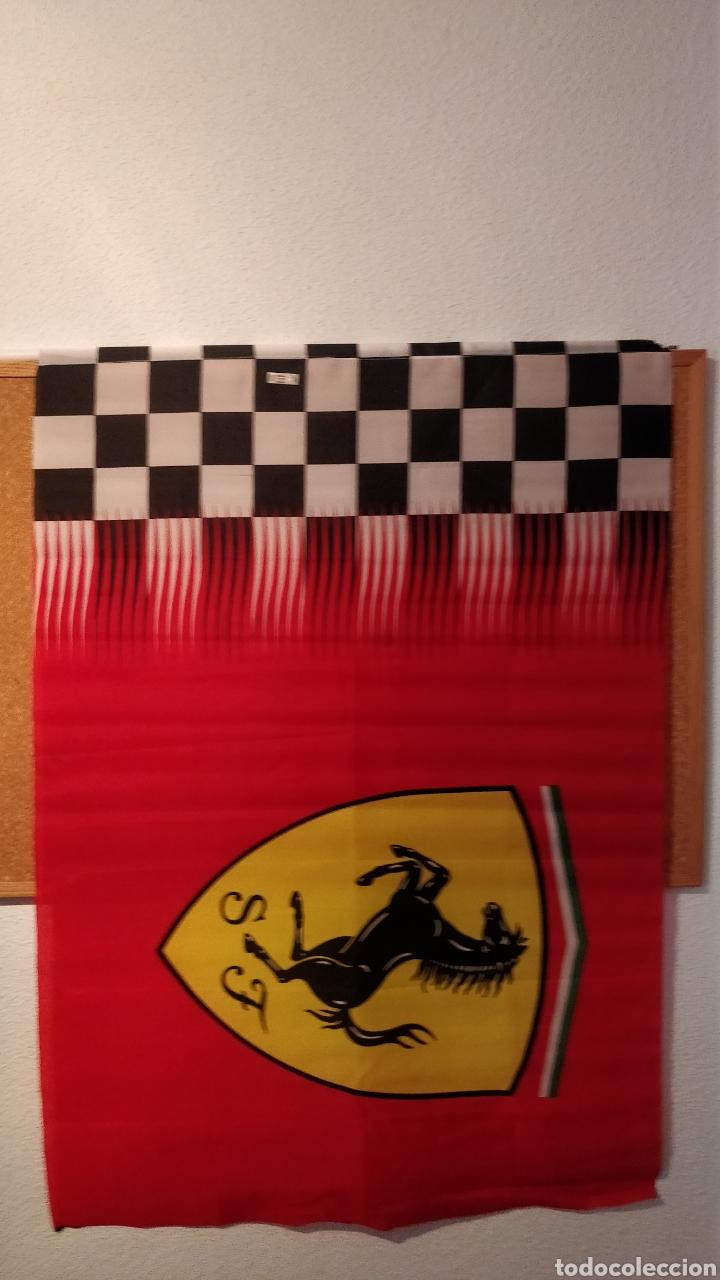 BANDERA FERRARI MERCHANDISING OFICIAL (Coleccionismo Deportivo - Banderas y Banderines otros Deportes)
