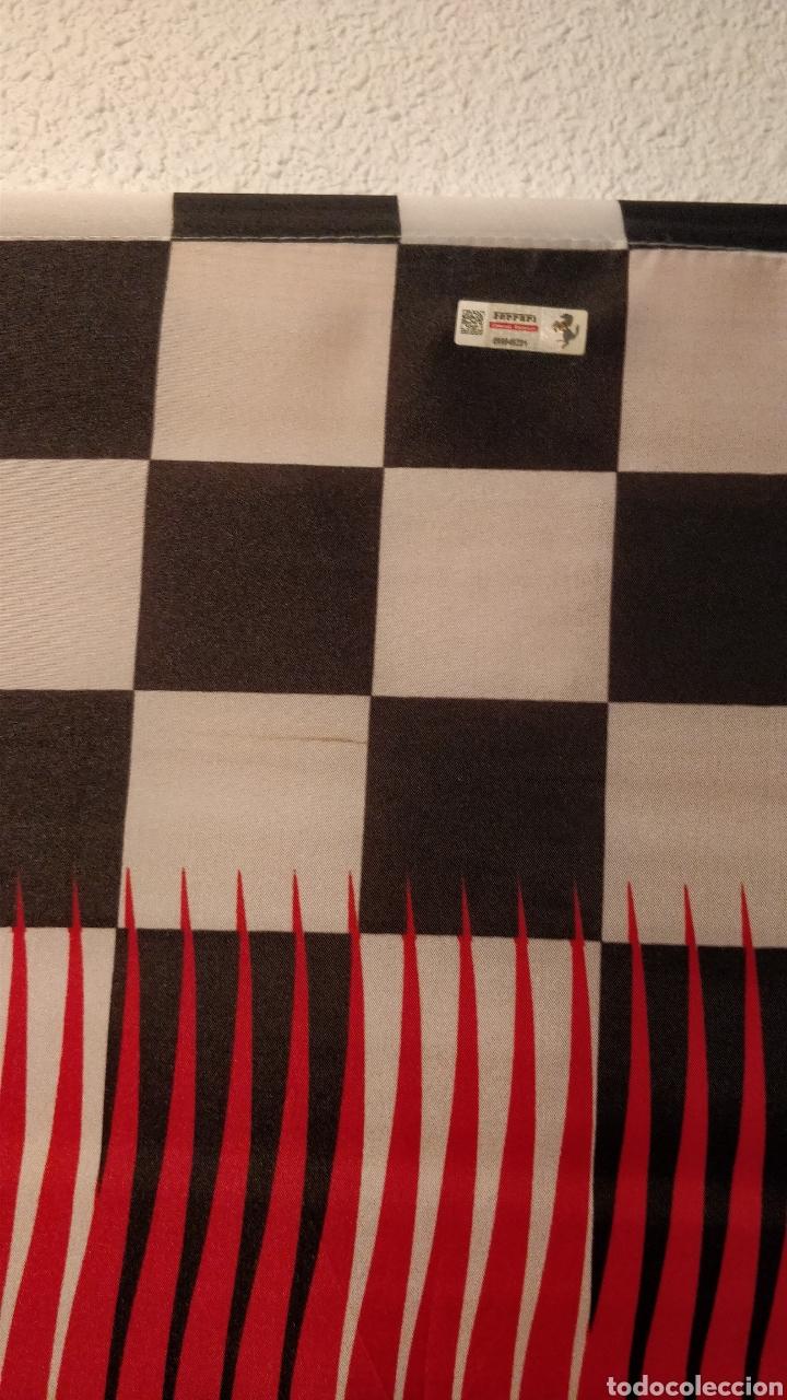 Coleccionismo deportivo: Bandera Ferrari merchandising oficial - Foto 4 - 157876940