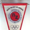 Coleccionismo deportivo: BANDERÍN GRAN PREMIO DE EUROPA DE TIRO AL PLATO 1979 CLUB POLIDEPORTIVO NUEVO ZULEMA. Lote 160441862