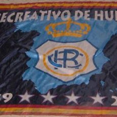 Collectionnisme sportif: BANDERA DEL RECREATIVO DE HUELVA. Lote 163789958