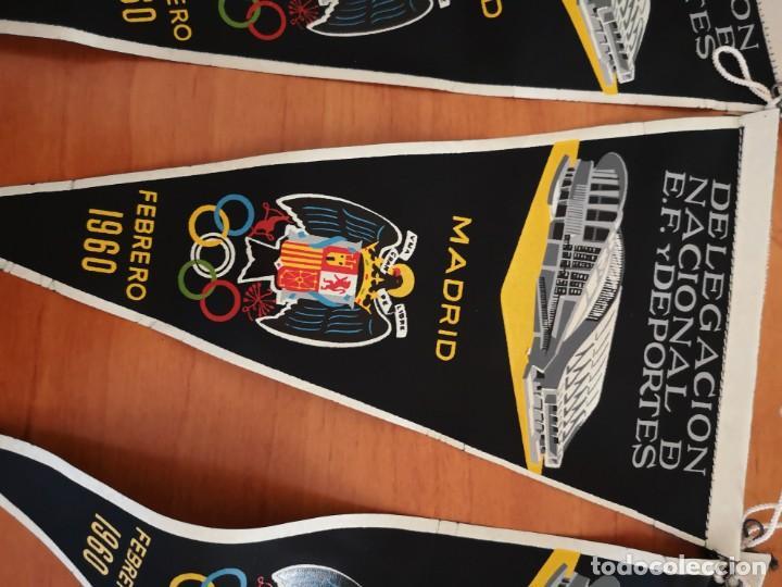 Coleccionismo deportivo: Banderin delegación nacional D. E. F y deportes 1960 - Foto 2 - 165840598