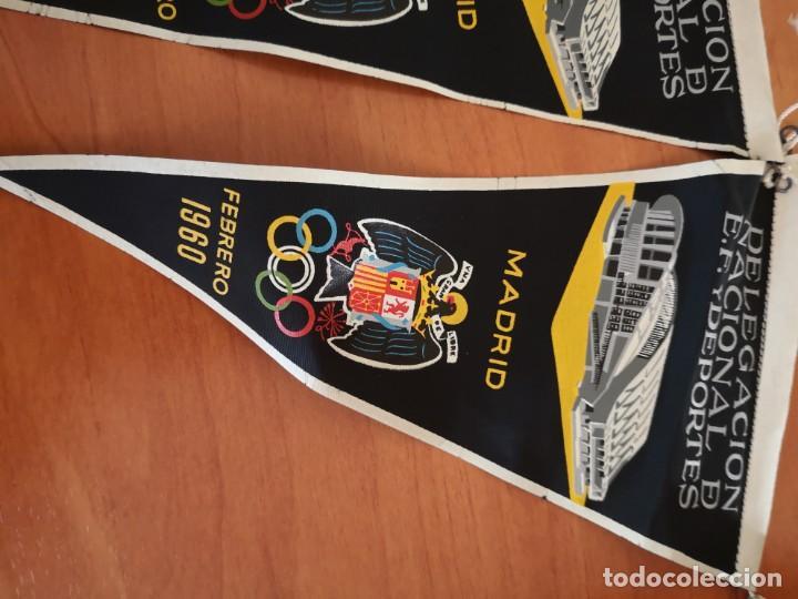 Coleccionismo deportivo: Banderin delegación nacional D. E. F y deportes 1960 - Foto 3 - 165840598